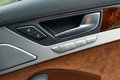 Interior panel of car door Royalty Free Stock Photography