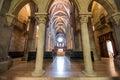 Interior of pannonhalma basilica pannonhalma hungary april on april in Stock Image