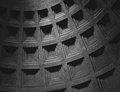 Interior of Pantheon in Rome Royalty Free Stock Photo
