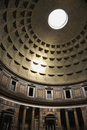 Interior of Pantheon, Rome, Italy. Royalty Free Stock Photo