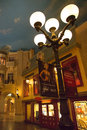 Interior of the paris casino hotel at night las vegas nv september las vegas unites states Stock Photos