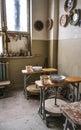 Interior pottery inside Royalty Free Stock Photo