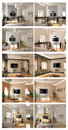 Interior project scetch set Stock Photography
