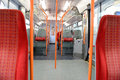 Interior of a railway carriage Royalty Free Stock Photo
