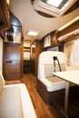 Interior of recreational vehicle new Royalty Free Stock Photography