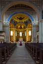 Interior of the roman catholic church of st peter and st paul potsdam germany december built in renovated in Royalty Free Stock Photography