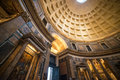 Interior of Rome Pantheon Royalty Free Stock Photo