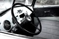 Interior of 1950's chevy truck Royalty Free Stock Photo