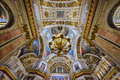 Interior of the Saint Isaac Cathedral. St.Petersburg, Russia