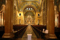 Interior of Saint Louis Cathed Royalty Free Stock Photo