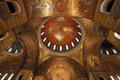 Interior of Saint Louis Cathedral Dome, St. Louis Missouri Royalty Free Stock Photo