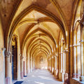 Interior of Saint Peter Cathedral, Trier Royalty Free Stock Images