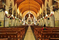 Interior of san thome basilica in chennai india Royalty Free Stock Image