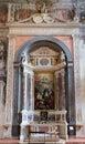 Interior of Santa Anastasia Church in Verona, Italy Royalty Free Stock Photo