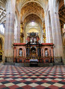 Interior santa maria de segovia cathedral town segovia small city north madrid spain Royalty Free Stock Photography
