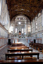 Interior Santa Maria dei Miracoli, Venice, Italy Royalty Free Stock Photo