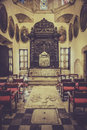 Interior of Santo Domingo cathedral Royalty Free Stock Photo