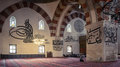 Interior of the Selimiye Mosque in Edirne, Turkey Royalty Free Stock Photo