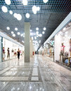Interior of a shopping centre Royalty Free Stock Images