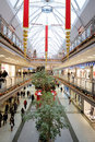 Interior of a shopping mall in Turkey Royalty Free Stock Photo