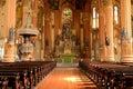 Interior of St. Mary's Assumption Church - Horizontal Royalty Free Stock Photo