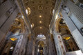 Interior of St. Peters Basilica, Rome