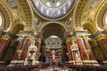 Interior of st stephen s basilica budapest hungary april on april in the is named in honor Stock Image