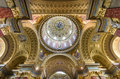Interior of st stephen s basilica budapest hungary april on april in the is named in honor Stock Images
