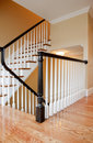 Interior Staircase, New construction Stock Photo