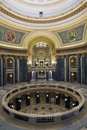 Interior of State Capitol Royalty Free Stock Photo