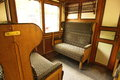 Interior of steam train Royalty Free Stock Photo