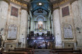 Interior of Stella Maris Church. Haifa. Israel. Royalty Free Stock Photo
