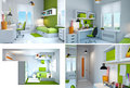 Interior of teenager room Stock Photography