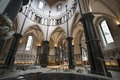 Interior Of Temple Church Lond...