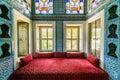 The interior of Topkapi palace Royalty Free Stock Photo