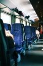 Interior of train Royalty Free Stock Photo