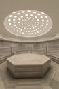 Interior of turkish bath hammam Royalty Free Stock Photo