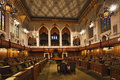 Interior view of the Canada Commons of Parliament, Ottawa Royalty Free Stock Photo