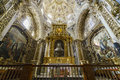 Interior  view of Church of Santo Domingo Royalty Free Stock Photo