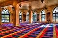 Interior view of Mohammad Al-Amin Mosque 05-05-2012 Beirut, Lebanon Royalty Free Stock Photo
