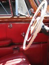 Interior view oldtimer Royalty Free Stock Photos