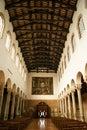 Interior view of san giovanni evangelista church ravenna italy Royalty Free Stock Image