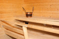 Interior View of Sauna Bath Royalty Free Stock Photography