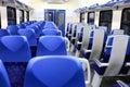 Interior of wagon train Royalty Free Stock Photo