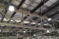 Interior Warehouse Roof Royalty Free Stock Photo