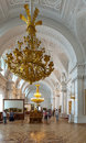 Interior of Winter Palace. Saint Petersburg Royalty Free Stock Photo