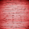 Interior wooden plank surface in red Stock Photography