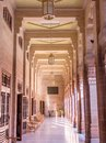 Interiors of Umaid Bhawan Palace, India Royalty Free Stock Photo