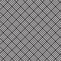 Interlacing pattern geometric seamless ornament background print design Royalty Free Stock Images