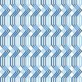 Interlacing pattern. Seamless geometric texture. Stock Photo